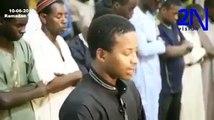 Émouvant Les larmes de Moudjitaba Diallo, champion du monde de lecture du coran