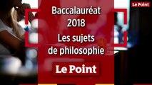 Bac 2018 : les sujets de l'épreuve de philosophie, filière par filière