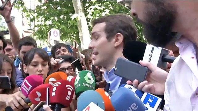Pablo Casado anuncia su candidatura para suceder a Rajoy