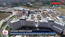 """Cumhurbaşkanı Erdoğan'ın """"Hayalim"""" dediği bir hastane daha bitti"""