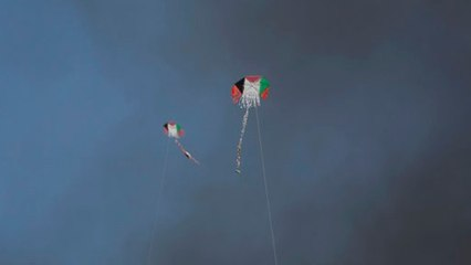 Threat of Incendiary Kites from Gaza Continues
