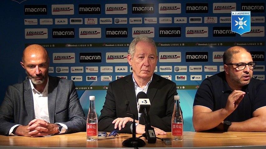 Conférence de presse d'avant saison 18-19