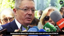 Declaración de Alberto Ruiz Gallardón ante el juez del caso Lezo