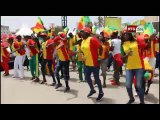 Allez les Lions avec les 12ème Gaindé au Village du Mondial