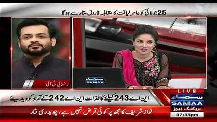 Aamir Liaquat Bashing Anchor Kiran Naz in Live Show