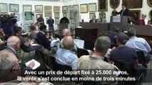 Un bicorne de Napoléon, ramassé à Waterloo, adjugé 350.000 euros