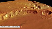 Mystery Behind A Strange Rock Formation On Mars May Have Been Solved