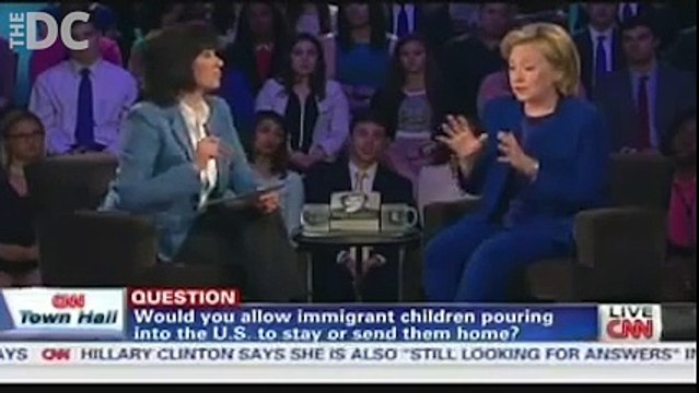 Hillary In 2014 Illegal Immigrants Have Got To Go