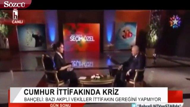 Bahçeli'den flaş Erdoğan açıklaması