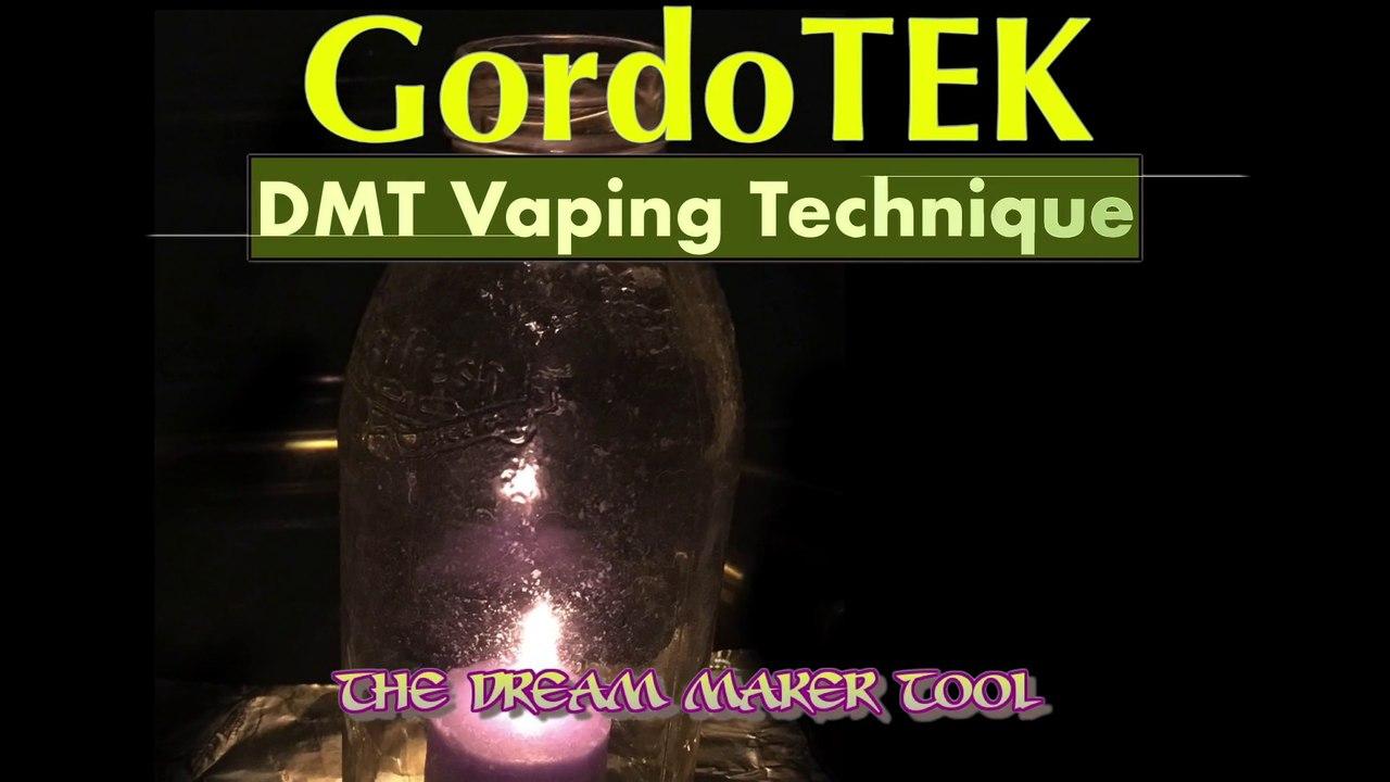 GordoTEK DMT Vaping Technique and DIY Vape Tool (Effective No Smoke Method)