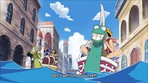 #1035 Team Luffy arrives at the Shopping district in Water 7