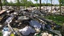Les tristes images de la plus grande décharge sauvage de France, dans les Yvelines