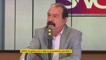 """Grève à la SNCF : """"Si rien ne bouge,  la CGT va proposer de poursuivre le mouvement début juillet"""", affirme Philippe Martinez #8h30Politique"""