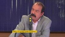 """La CGT """"n'est pas là pour prendre le pouvoir"""", réagit Philippe Martinez #8h30Politique"""