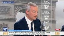 """Rémunération du patron de Carrefour: """"Lorsqu'on échoue on n'est pas récompensé"""" rappelle Bruno Le Maire"""