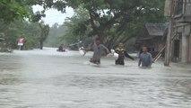D'importantes inondations en Birmanie - 19/06/2018