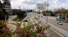 Aliran trafik lancar pada hari kedua cuti Hari Raya di Jalan Skudai menuju pusat bandaraya Johor Bahru. - Video Hairul Anuar Rahim