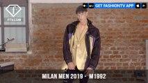 M1992 Ocean Polution Awareness Milan Men Fashion Week Spring/Summer 2019   FashionTV   FTV