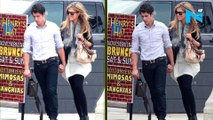 Nick Jonas's ex Delta Goodrem feels she can't compete Priyanka