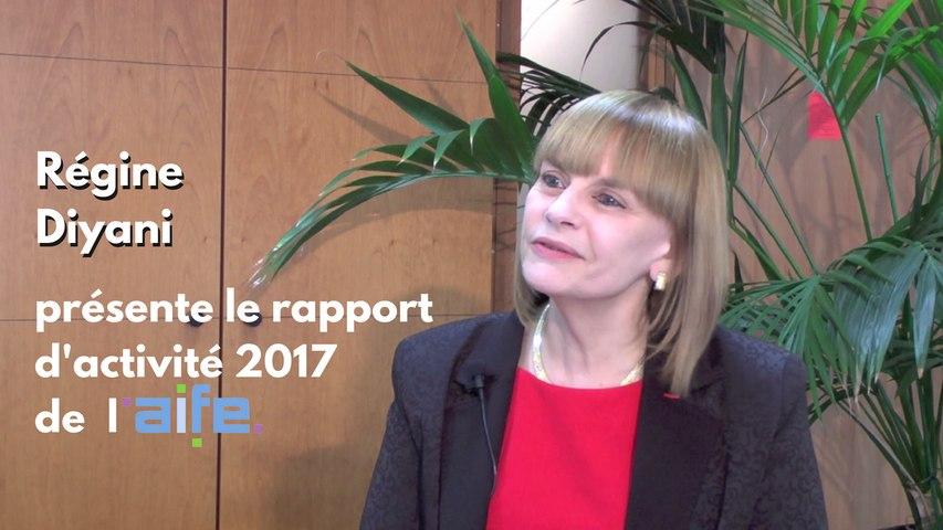 Rapport d'activité 2017 -  Régine Diyani