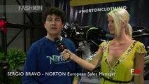 NORTON Interview with SERGIO BRAVO   Pitti 94 Firenze - Fashion Channel