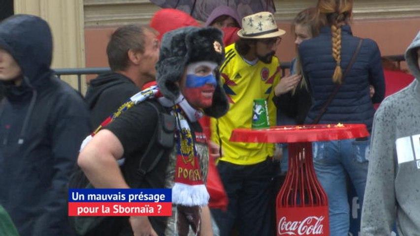 CdM 2018 - La pluie à Saint-Pétersbourg, un mauvais présage pour la Sbornaïa ?