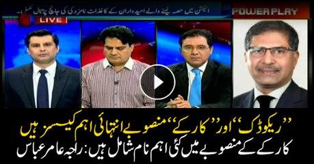 Raja Amir Abbas says big wigs named in Karkey and Reko Diq cases