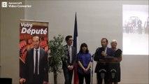Sébastien Chenu premier compte rendu de député à l'Assemblée nationale