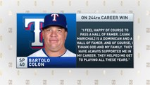 The Jim Rome Show: Bartolo Colon sets all-time record for wins by Dominican pitcher