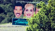 Is it a ? Is it a ✈? No, it's Luke Bryan, Lionel Richie, Ryan Seacrest's and my enormous heads in an attempt to do promo for #AmericanIdol's HOLLYWOOD WEEK! Wh