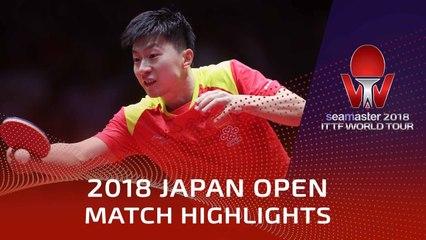 Ma Long vs Chiang Hung-Chieh | 2018 Japan Open Highlights (R32)