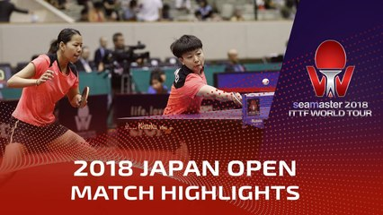 Cheng Hsien-Tzu/Liu Hsing-Yin vs Gu Yuting/Mu Zi | 2018 Japan Open Highlights (1/2)