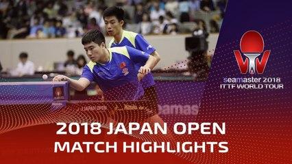 Liang Jingkun/Zhou Kai vs Liao Cheng-Ting/Lin Yun-Ju | 2018 Japan Open Highlights (1/2)
