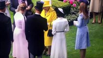 Prince Harry and Meghan Markle join Queen Elizabeth at Royal Ascot