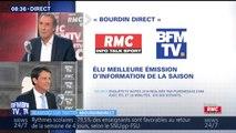 """""""Bourdin Direct"""" élu meilleure émission d'information de la saison"""