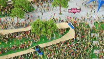 Adrénaline - Skate : Un parcours inédit pour une compétition de skate avec le Red Bull Red Bull Roller Coaster