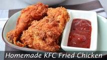 Homemade KFC Fried Chicken - How to Make Crispy Spicy Fried Chicken Recipe