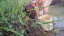 Net Fishing In Pailin Province 2018 - Khmer Net Fishing - Cambodia Traditional Fishing(Part 78)