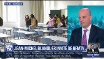 """Bac 2018: Seulement """"une petite cinquantaine d'élèves touchés par des retards"""", assure Blanquer"""