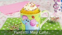 Funfetti Mug Cake - Easy Vanilla Mug Cake with Sprinkles
