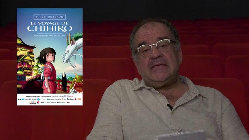 Laurent Delmas présente : « Le voyage de Chihiro»