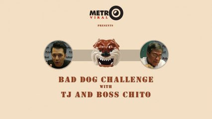 Bad Dog Celebrity Challenge with TJ Monterde