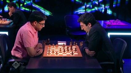 Paris Grand Chess Tour 2018 -  Jour 1 Rapid Rounds 1-3 A continué