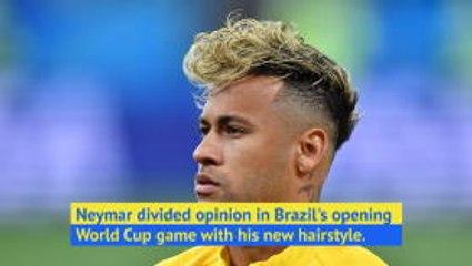 Brazil fans discuss Neymar's haircut