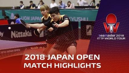 Liang Jingkun/Chen Xingtong vs Maharu Yoshimura/Kasumi Ishikawa | 2018 Japan Open Highlights (Final)