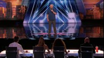 Comedy: Iain Brown- Wannabe AGT Judge Replaces Howie Mandel - America's Got Talent 2018