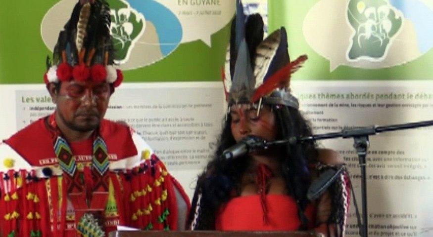 Audition6-18 juin-Amandine GALIMA, Jeunesse Autochtone de Guyane