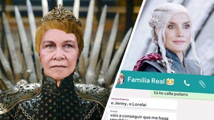 El grupo de la Familia Real está que arde