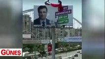 Şanlıurfalılar HDP'ye bir kez daha haddini bildirdi