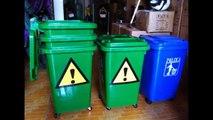 Địa chuyên cung cấp thùng rác nhựa với nhiều loại dung tích 60 lít, 90 lít, 120 lít, 240 lít, 660 lít giá rẻ tại Hà Nội, tpHCM